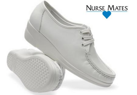 Nurse Mates Annie Hi White