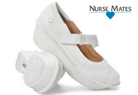 Nurse Mates Grady in White