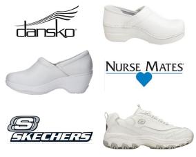 White Nursing Shoes